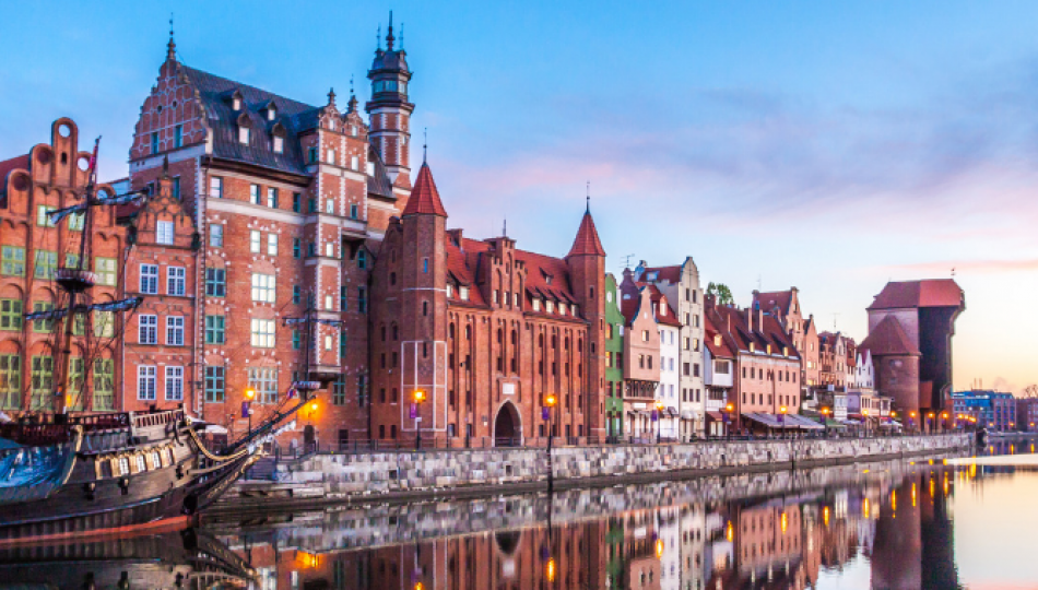 Gdańsk is becoming increasingly popular with foreign tourists