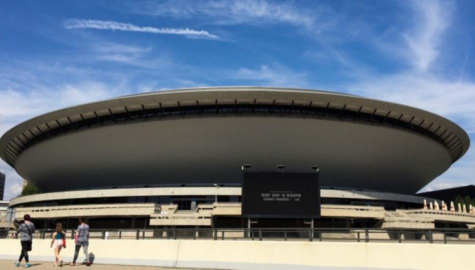 Katowice's symbol - Spodek - is a popular arena complex