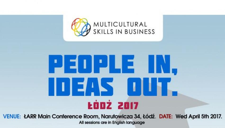 Multicultural Skills in Business Łódź 2017