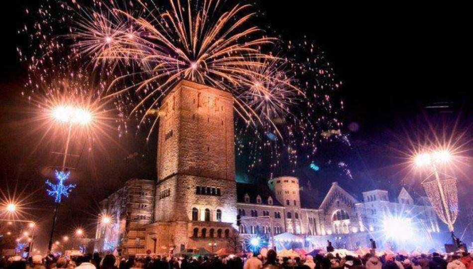 New Year's Eve celebrations in Poznań, Poland