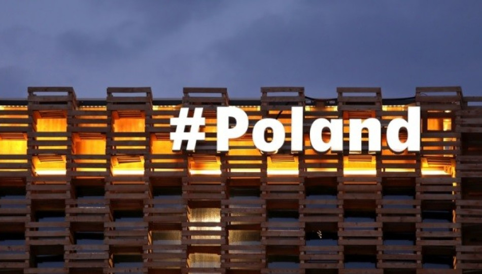 Pictured: Polish Pavilion at EXPO 2015 #Poland