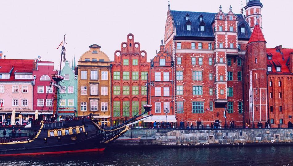 The city of Gdańsk