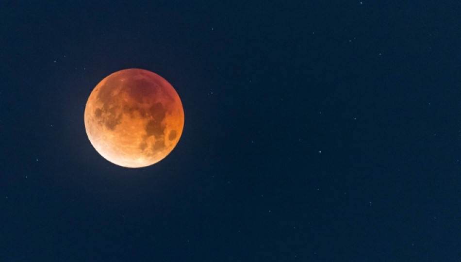 Lunar eclipse in Poland 2018