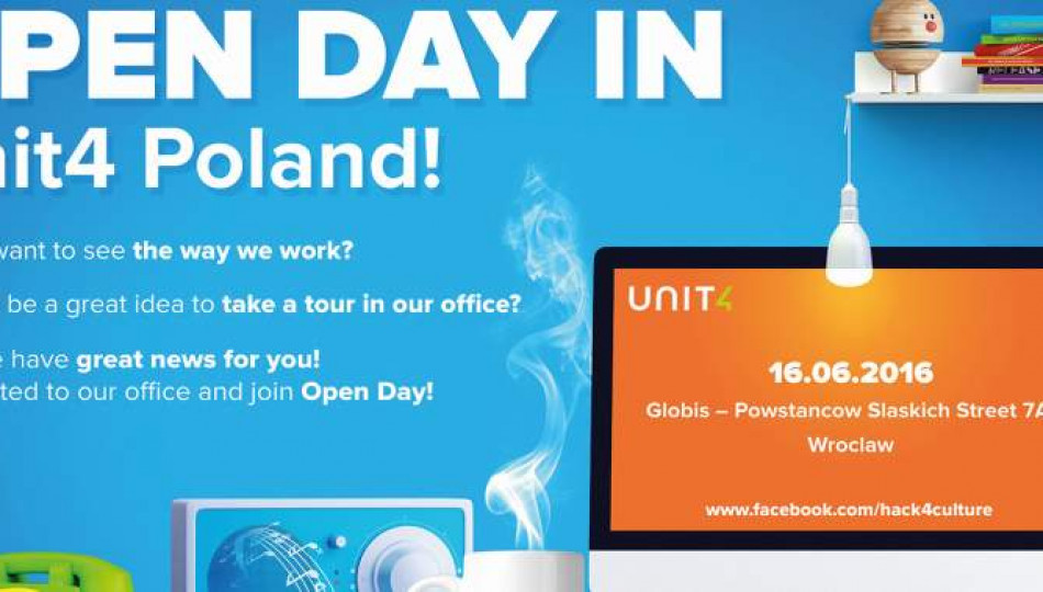 Open Days for Unit4 Poland